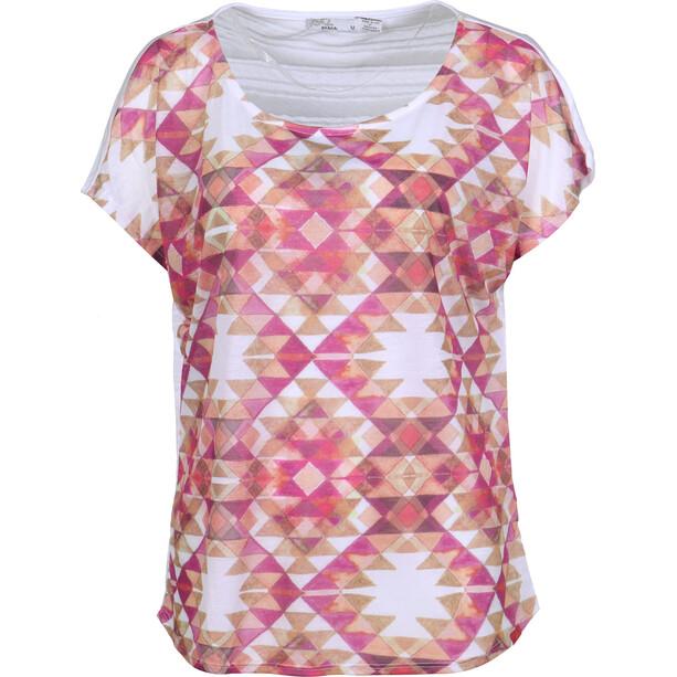 Prana Harlene T-Shirt Damen rich fuchsia