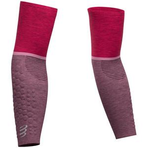 Compressport ArmForce Ultralight Armlinge pink/melange pink/melange