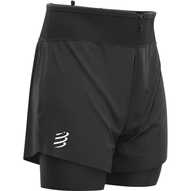 Compressport Trail 2-in-1 Shorts Herren black