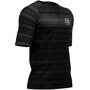 Compressport Racing T-shirt, black (stripes)