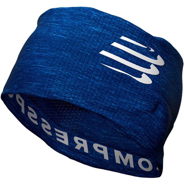 Compressport 3D Ultralight Thermo Kopftuch blue/melange