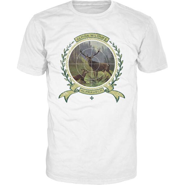 Alprausch Wilds Läbe T-Shirt Men, valkoinen