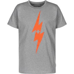 Alprausch Chrüzblitz T-Shirt Homme, gris gris