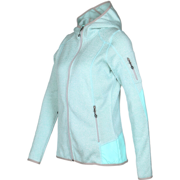 killtec Liv Fleecejacke Damen eisblau