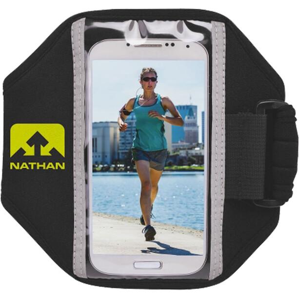 Nathan Super 5K Smartphone Armband black/sulfur