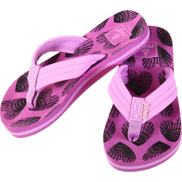Reef Little Ahi Flip-flopit Lapset, vaaleanpunainen