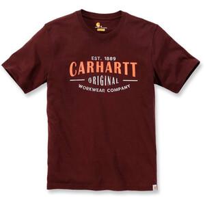Carhartt Workwear Graphic T-Shirt Herren rot rot