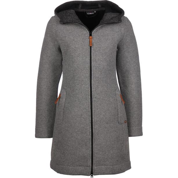 CMP Campagnolo 39M3256 Fix Hood Jacke Damen grau
