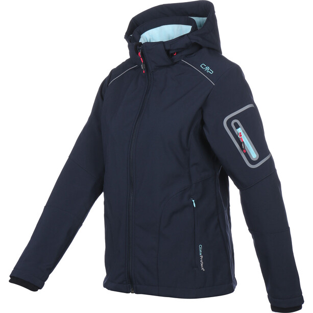 CMP Campagnolo 3A05396 Softshell Jacke Damen black blue