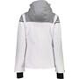 CMP Campagnolo 39W1576 Zip Kapuzenjacke Damen weiß/grau