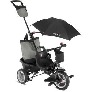 Puky Ceety Comfort Tricycle Enfant, noir noir
