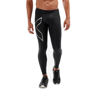 2XU Compression Tights Herren black/silver black/silver