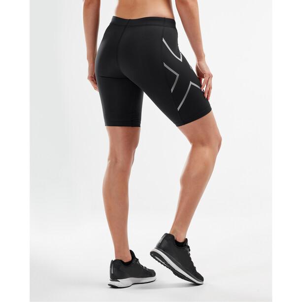 2XU Compression Shorts Damen black/silver
