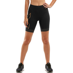2XU Compression Tri Shorts Damen black/gold black/gold