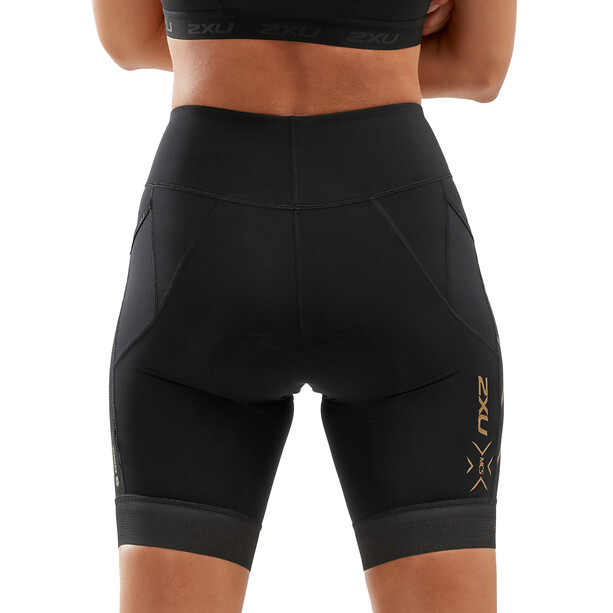 2XU Compression Short de triathlon Femme, noir