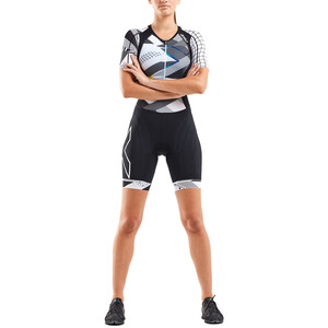 2XU Compression Trialtlondragt Damer, hvid/sort hvid/sort