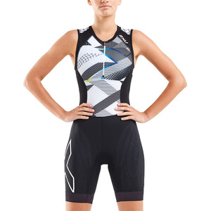 2XU Compression Trisuit Damen black/chroma black/chroma