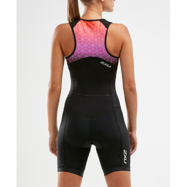 2XU Active Trisuit Damen black/sunset ombre