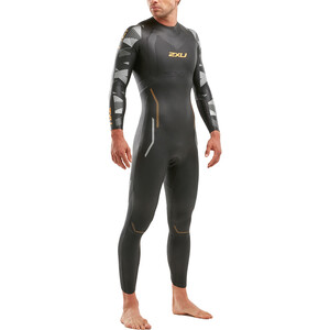 2XU P:2 Propel Wetsuit Herren black/orange fizz black/orange fizz
