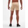 2XU Core Compression 1/2 Shorts Herren beige/silver