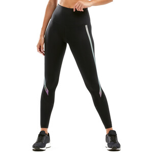 2XU Hi Rise Compression Tights Damen black/multichrome zephyr black/multichrome zephyr