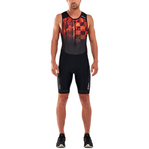 2XU Perform Front Zip Trisuit Herren midnight/fresh ombre midnight/fresh ombre