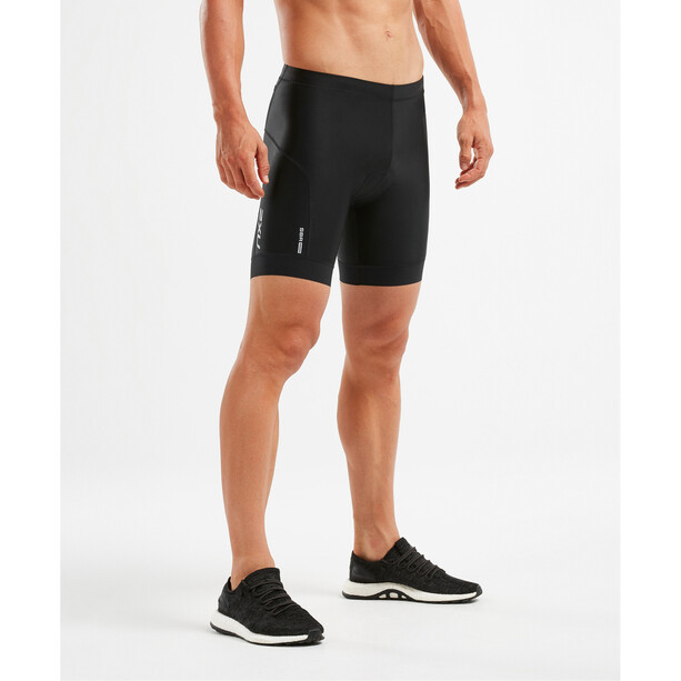 "2XU Perform 7"" Tri Shorts Herren black/black"