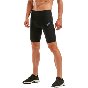 2XU Run Dash Compression Shorts Herren black/denim reflective black/denim reflective