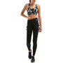 2XU Fitness Print Hi Rise Compression Tights Damen black textured check