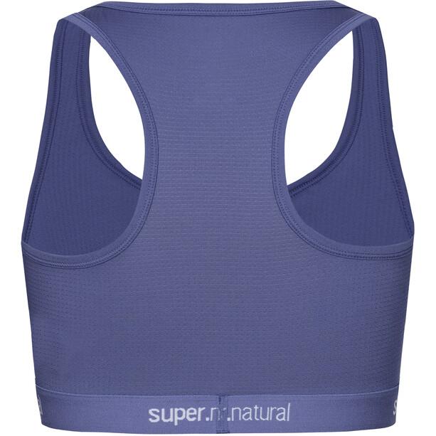 super.natural Yoga Bustier Sport BH Damen coastal fjord