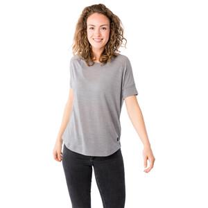 super.natural Isla T-Shirt Damen silver grey melange silver grey melange
