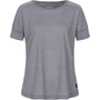 super.natural Isla T-Shirt Damen silver grey melange