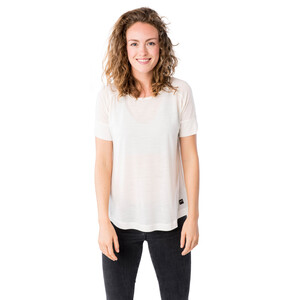 super.natural Isla T-Shirt Damen fresh white fresh white