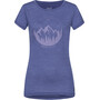 super.natural Printed T-Shirt Damen coastal fjord melange/fairy tale unconventional
