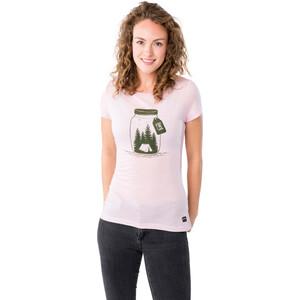 super.natural Printed T-Shirt Damen fairy tale melange/millitarycamping jar fairy tale melange/millitarycamping jar