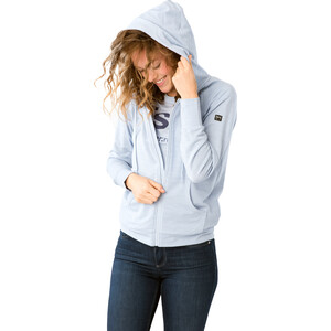 super.natural Essential Zip Hoodie Damen skyway melange skyway melange