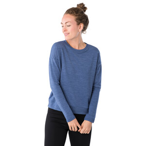super.natural Jonser Sweater Damen coastal fjord melange coastal fjord melange
