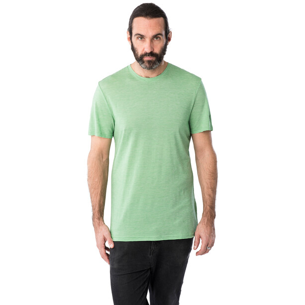 super.natural Tencel T-Shirt Herren greenbriar melange