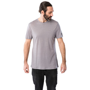 super.natural Tencel T-Shirt Herren silver grey silver grey