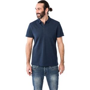 super.natural Wayfarer Poloshirt Herren blue iris blue iris