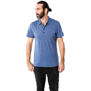 super.natural Everyday Poloshirt Herren coastal fjord melange coastal fjord melange