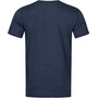 super.natural Graphic T-Shirt Herren blue iris melange/light grey go camping