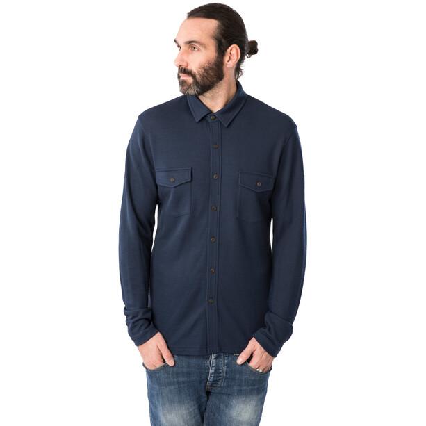 super.natural Wayfarer Pocket T-Shirt Herren blue iris