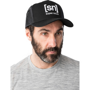 super.natural I.D. Trucker Cap jet black jet black