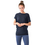 super.natural Yoga Loose Tee Women blue iris melange