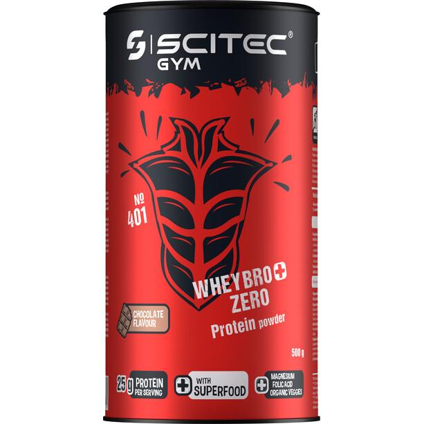 SCITEC Whey Bro+ Zero Proteinpulver 500g Schokolade