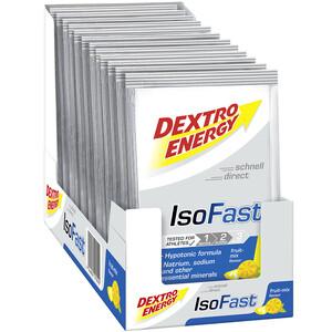 Dextro Energy IsoFast Carbo Mineral Drink Box 12 x 56g Früchte Mix