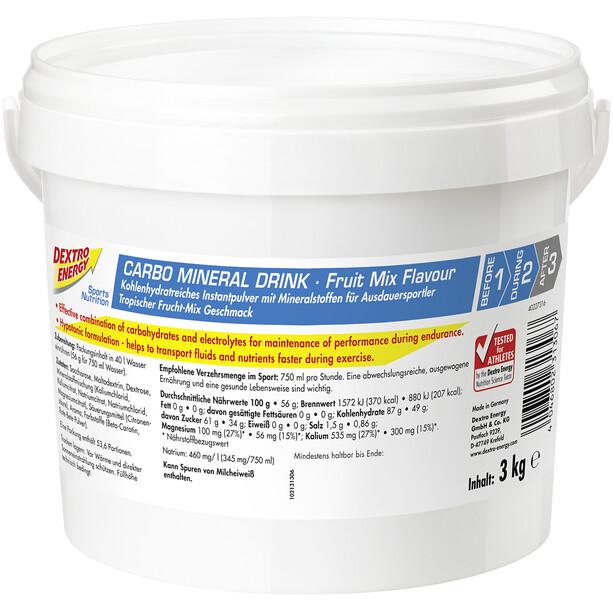 Dextro Energy IsoFast Carbo Mineral Drink Dose 3kg Früchte Mix
