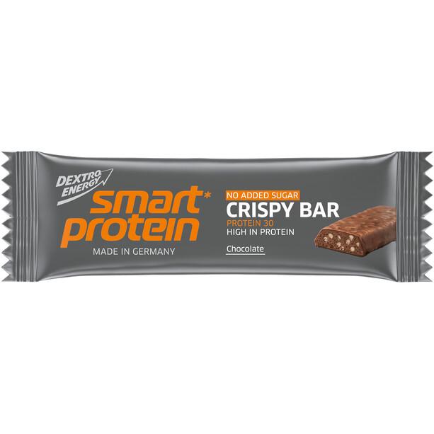 Dextro Energy Smart Protein Crispy Box 15 x 45g, Chocolate