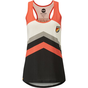 Moon Climbing Retro Stripe Vest Women colour block colour block